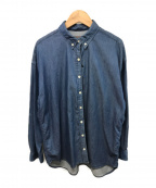 R.H.Vintage(ロンハーマン・ヴィンテージ)の古着「ライトデニムBDシャツ」 インディゴ
