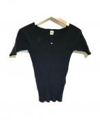 Ron Herman(ロンハーマン)の古着「リブニット」|ブラック