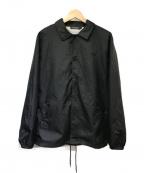 UNDERCOVER()の古着「バックプリントコーチジャケット」|ブラック