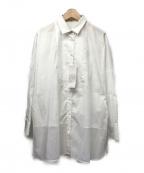 WEEKEND Max Mara(ウィークエンド マックスマーラ)の古着「切替パターンブロードシャツ」|ホワイト