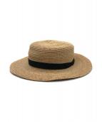 mature ha.(マチュアーハ)の古着「ラフィアカンカン帽」|ナチュラル