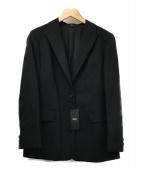 ()の古着「ストレッチトロピカルウールジャケット」|ブラック