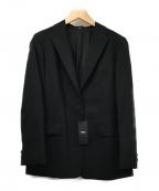 comme ca(コムサ)の古着「ストレッチトロピカルウールジャケット」 ブラック