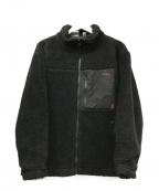 GRAMICCI()の古着「ボアフリースジャケット」 ブラック