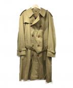 GRENFELL(グレンフェル)の古着「ヴィンテージライナー付トレンチコート」|ベージュ