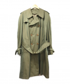 GRENFELL(グレンフェル)の古着「ヴィンテージトレンチコート」|玉虫