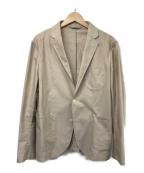 giannetto(ジャンネット)の古着「オックスフォード2Bアンコンジャケット」|ベージュ