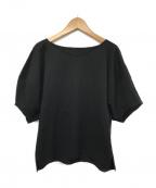 ROPE(ロペ)の古着「フォルム袖カットソー」|ブラック