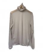 Droite lautreamont(ドロワットロートレアモン)の古着「シアーシフォンタートルカットソー」|グレー