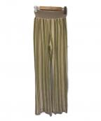 TODAYFUL()の古着「Stripe Knit Leggings」 ベージュ