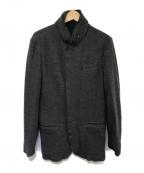 EMPORIO ARMANI()の古着「ウールジップアップジャケット」|グレー