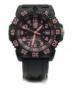 LUMINOX(ルミノックス)の古着「腕時計」|ブラック×ピンク