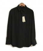 MUSE de Deuxieme Classe(ミューズ ドゥーズィエム クラス)の古着「EDEN シャツ」|ブラック