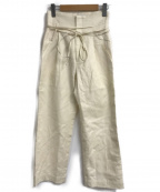 Spick and Span(スピックアンドスパン)の古着「ハイバギーパンツ」|アイボリー