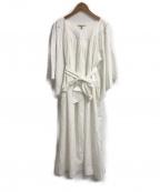 ne quittez pas(ヌキテパ)の古着「ROKU別注COTTON POPLIN DRESS」 ホワイト