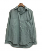 Frank&Eileen(フランクアンドアイリーン)の古着「BARRY L/Sシャツ」 グリーン