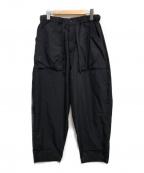 Manastash(マナスタッシュ)の古着「SIXPKT COCOON PANTS」 ブラック