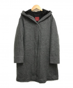 AMACA(アマカ)の古着「3WAYグリーンダウンコート」 グレー