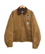 CarHartt(カーハート)の古着「デトロイトジャケット」|ブラウン