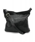 ()の古着「レザーショルダーバッグ」|ブラック