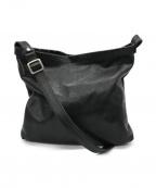 SLOW(スロウ)の古着「レザーショルダーバッグ」|ブラック