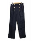 ()の古着「デニムマリンパンツ」|インディゴ