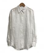 allureville(アルアバイル)の古着「ロイヤルラミーガーメントダイシャツ」|ホワイト