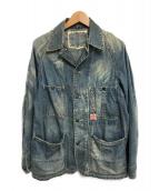 ()の古着「デニムカバーオール」|ライトインディゴ