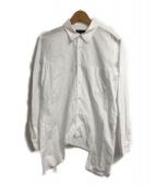()の古着「変形L/Sシャツ」|ホワイト