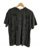 COMME des GARCONS HOMME(コムデギャルソン オム)の古着「90'SオールドTシャツ」 グレー
