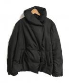 icB(アイシービー)の古着「ショールカラーダウンジャケット」|ブラック