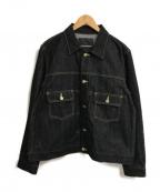 FUMITO GANRYU(フミトガンリュウ)の古着「ブルゾン」|インディゴ