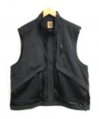 NIKE ACG(ナイキエージーシー)の古着「NRGメッシュベスト」|ブラック