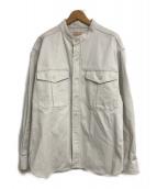()の古着「別注CPOバンドカラーイングリッシュツイルシャツ」|アイボリー