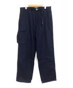 ()の古着「Cotton Nylon Field Pants」|ネイビー
