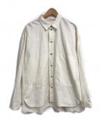 POLYPLOID(ポリプロイド)の古着「SHIRT JACKET A」|オフホワイト