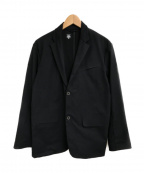 DESCENTE PAUSE(デサントポーズ)の古着「2B TAILORED JACKET」 ブラック