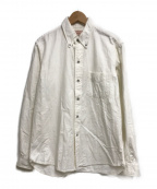BONCOURA(ボンクラ)の古着「フラノBDシャツ」|ホワイト