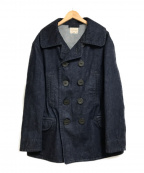 BONCOURA(ボンクラ)の古着「Pea Coat denim」|インディゴ