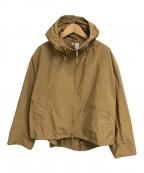 ORCIVAL(オーシバル)の古着「ナイロンタフタライトジャケット」 ベージュ