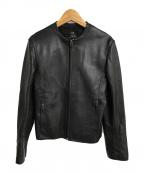 23区(ニジュウサンク)の古着「シープレザージャケット」 ブラック