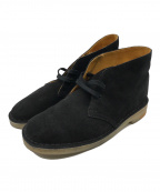 CLARKS(クラークス)の古着「Desert Boot Black Combi Suede」 ブラック