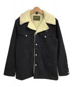 ()の古着「EX WOOL WRANCH COAT」 ブラック