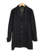 PALTO(パルト)の古着「GERALDOチェスターコート」 ブラック