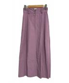 ()の古着「Barrel Skirt」 ピンク