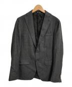 ANGELICO(アンジェリコ)の古着「ウール2Bジャケット」 グレー