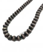 Indian jewellery(インディアンジュエリー)の古着「ナバホパールネックレス」 ブラック