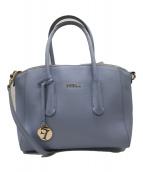 ()の古着「TESSA ハンドバッグ」|ブルー