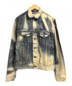 Denim & Supply Ralph Lauren()の古着「プリーチ加工デニムジャケット」 インディゴ