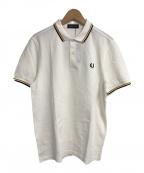 FRED PERRY(フレッドペリー)の古着「ポロシャツ」 ホワイト